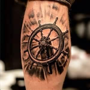 wooden steering wheel of a boat done by oscar 197 kermo