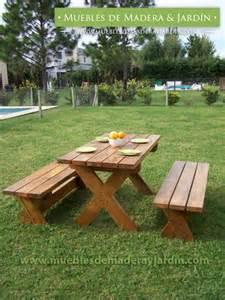 mesas de jardin rusticas 187 el de muebles de madera y