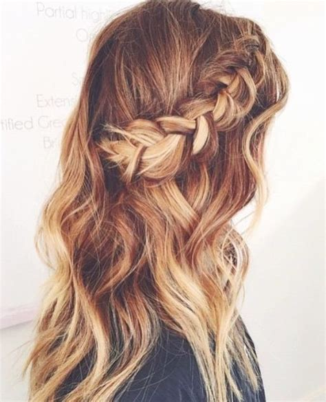 hairstyles down with plaits braids side braids and braided half up on pinterest