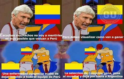 Peru Vs Colombia Memes - per 250 vs colombia los memes ya hacen de la suyas viral