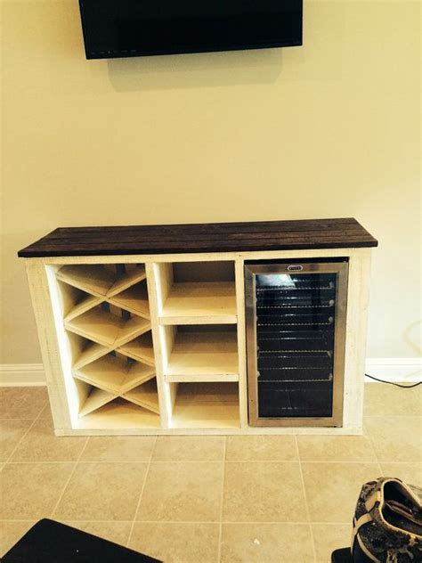 buffet table with built in wine cooler built in wine fridge simple to make a diy built