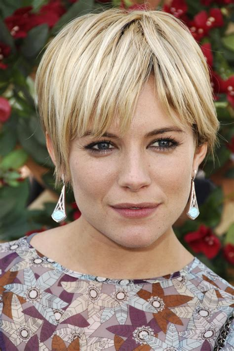 whatbhair texture does sienna miller have the best celebrity short haircuts of all time southern