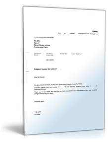 Rechnung Auf Englisch Vorlage Rechnung Im Anhang Englisch Musterbrief Sofort Zum