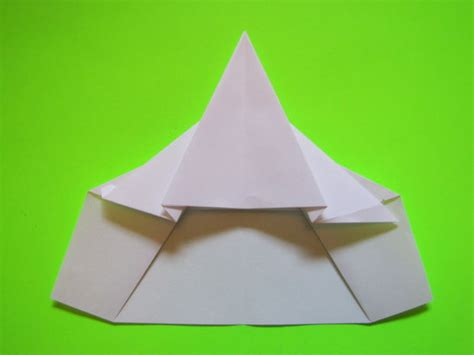 how to make the delta fighter paper plane 6