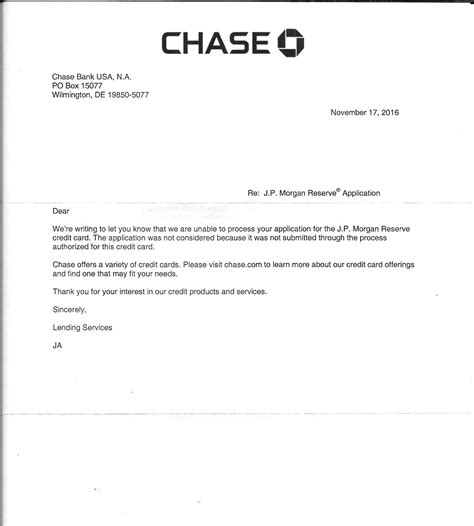 Jpmorgan Bank Letter Of Credit My Quest To Obtain The Jp Reserve Update P Myfico 174 Forums 4789481