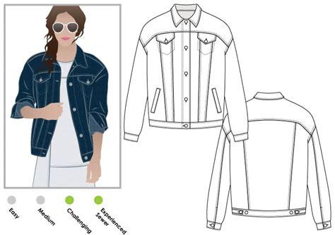 pattern jeans jacket stevie jean jacket style arc