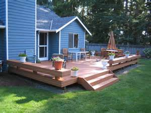 Backyard Deck by Small Deck Design Ideas St Louis Decks Screened