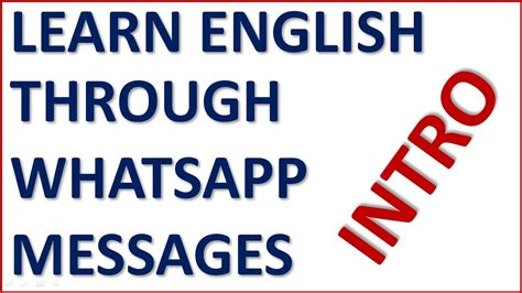 learn english through pictures picture this intro learn english through whatsapp messages for