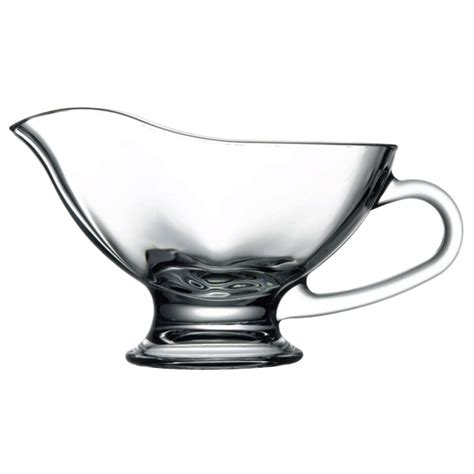 gravy boat glass browne 165296 11 oz pasabahce sauce boat glass clear