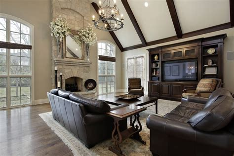 great ideas color transitions squares window and wall 42 living rooms with exposed ceiling beams love home designs