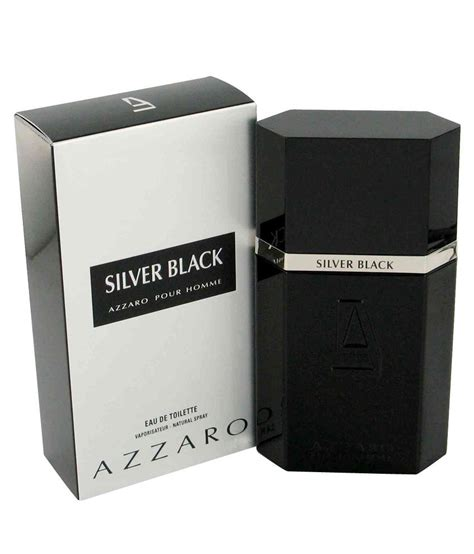 Azzaro Silver Black 100ml 100 Original azzaro silver black edt 100 ml buy at best prices in india snapdeal