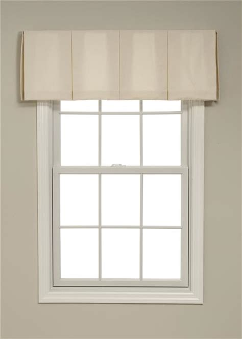 box pleat window treatments calico inverted box pleated valances