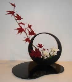 Japanese Decorative Of Flower Arrangement by Ikebana