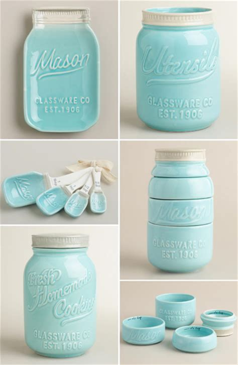 Colorful Kitchen Canisters Turquoise Kitchen Decor By Color
