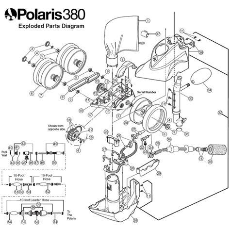 polaris 380 parts diagram polaris 380 no parts f3