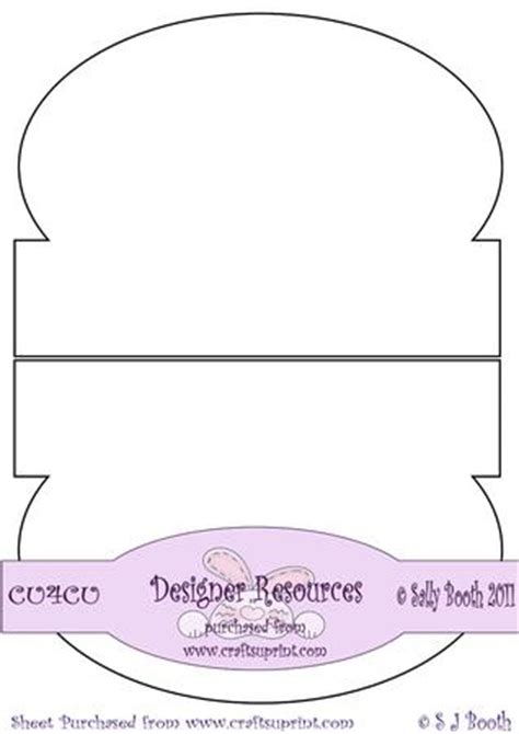 rocking card template rocker wobble card template cup197162 1026 craftsuprint