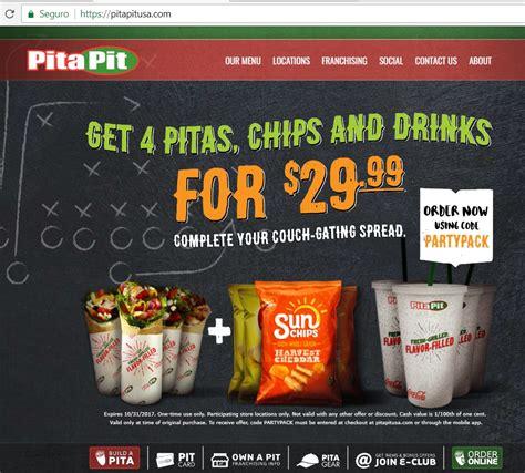 80 pita pit coupon code 2017 pita pit code dealspotr