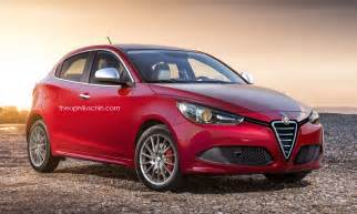 Alfa Romeo News New Alfa Romeo Mito Rendered Using Giulietta And Mazda2