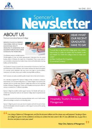 10 images about newsletter template ideas on