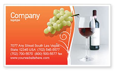 wine business card templates free bottle of wine business card template layout