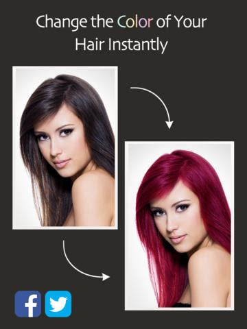 see how you look with different hair colors hair color booth free on the app store