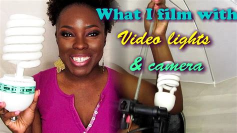 camera and lighting for youtube videos what i film with youtube lighting and camera youtube