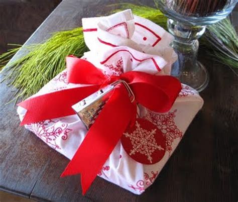 kitchen christmas gift ideas creative ideas for you kitchen towel wrapping