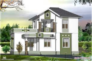 Budget House Plans by Small Double Floor Home Design In 1200 Sq Feet Home