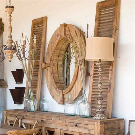 Park Hill Home Decor by Park Hill Collection Pair Of Reclaimed Wood Shutters Sdf1112