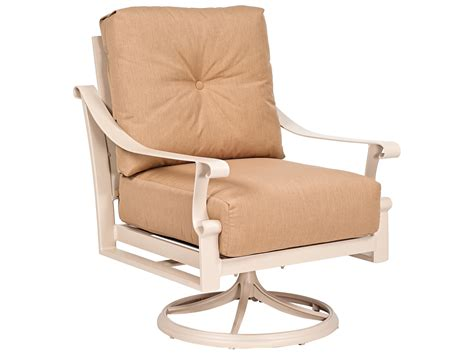 Woodard Bungalow Swivel Rocker Dining Chair Replacement