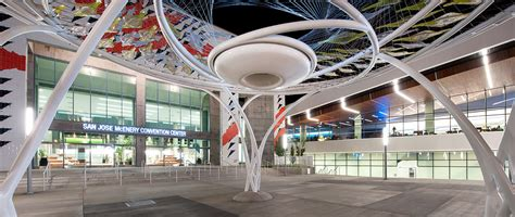 Charlotte Lucas Design by San Jose Mcenery Convention Center Expansion And