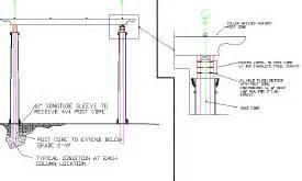 Pergola Construction Details by Amma Pergola Construction Details Dwg Info