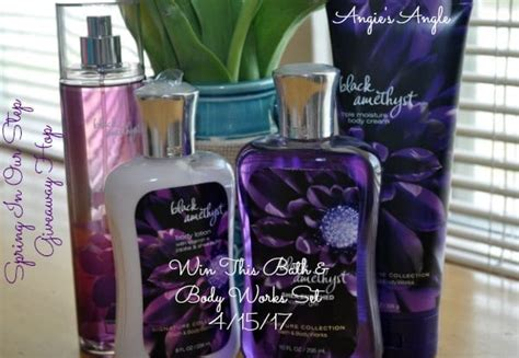 Bath And Body Works Giveaway - spring in our step giveaway hop bath and body works set angie s angle