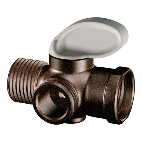 Shower Arm Diverter by Moen Shower Arm Diverter In Rubbed Bronze A720orb