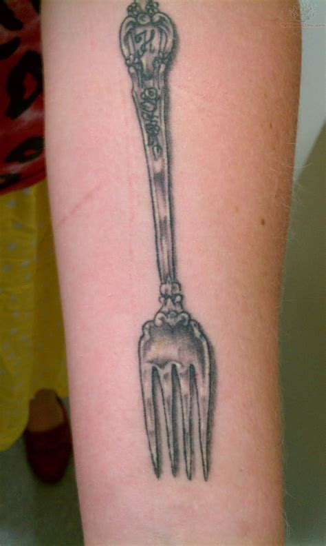 fork tattoo spoon images designs