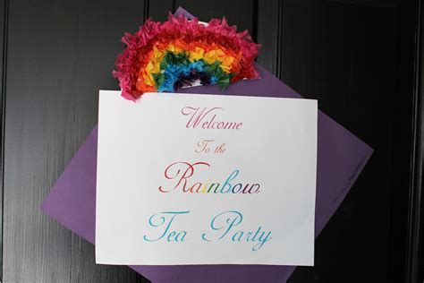 Not My Own: The Rainbow Tea Party