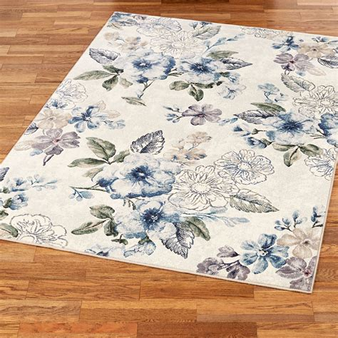 Floral Bliss Area Rugs Floral Rugs