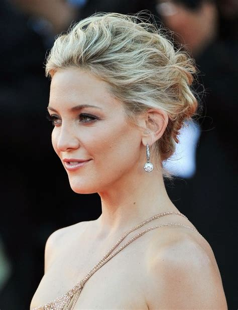 Upstyle Hairstyles | kate hudson messy upstyle hairdos for long hair popular