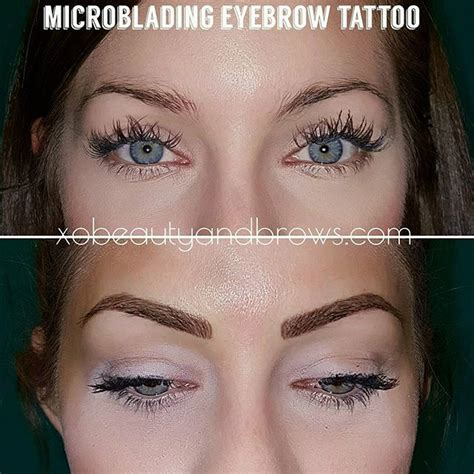 tattoo eyebrows reviews xo beauty studio best atlanta microblading and brow