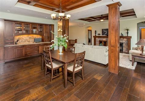 craftsman dining room   zillow digs built