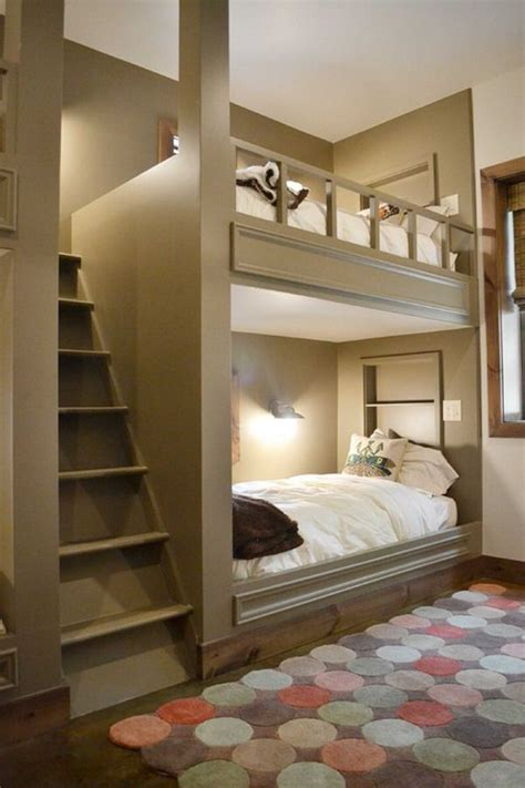Built In Bunk Bed Designs Build A Bunk Ideas Bedroom With Bunk Bed Ideas Things To Consider In Designing