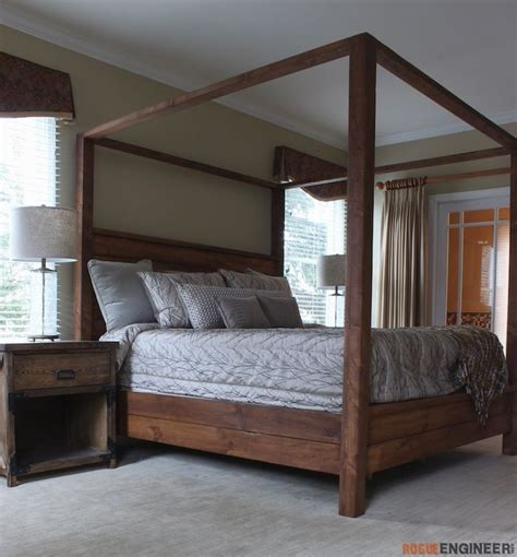King Size Canopy Bed Frame Best 25 King Size Canopy Bed Ideas On Canopy For Bed Canopy Bed Frame And Canopy Beds