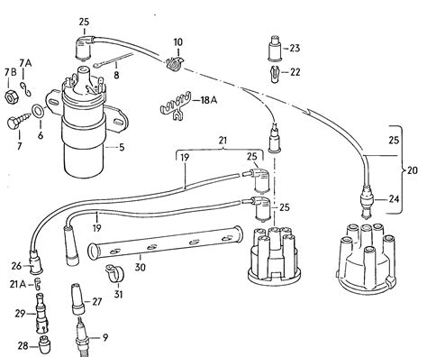 vw 1600 ignition coil wiring diagram get free image