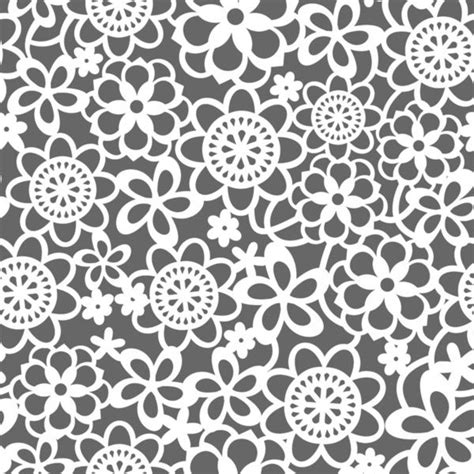 flower pattern lace filigree floral lace art print by totallyjamie
