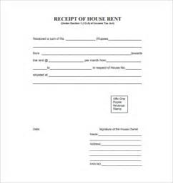 rental receipt template rental receipt template 10 free sle exle format