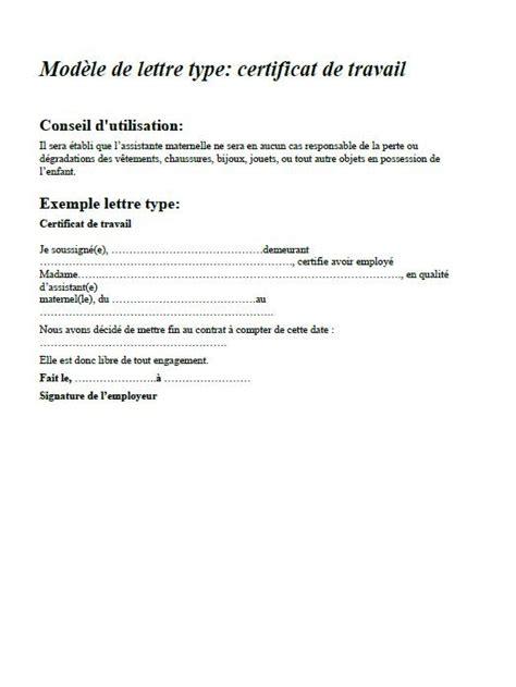 Exemple De Lettre Licenciement Nounou Utiles Contrat Rupture De Contrat