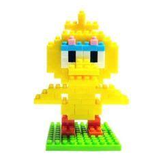 Ad4188 Loz Lego Nano Block Sesame Big Bird Kode Gute4054 snoopy peanuts kawada nanoblock nano block japan figure nanoblock nano blocks