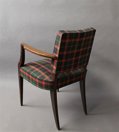 Tartan Armchair by Deco Bridge Armchair With A Tartan Fabric For Sale At 1stdibs