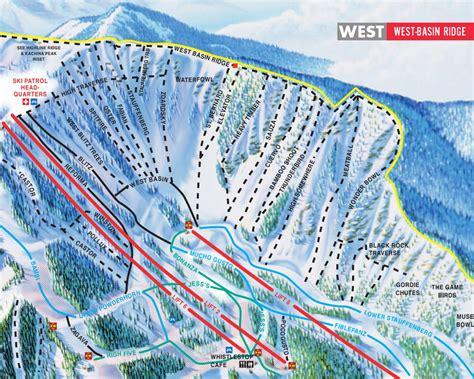 usa ski resort map taos ski valley piste maps