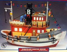 tugboat emoji christmas village collections lemax annibelle village